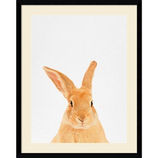 Framed Art Print 'Rabbit' by Tai Prints 23 x 29-inch
