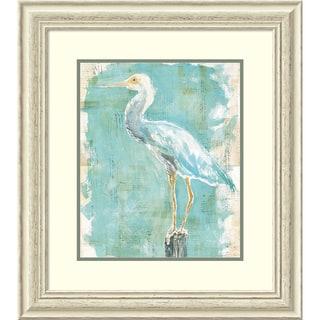 Framed Art Print 'Coastal Egret II v2' by Sue Schlabach 25 x 28-inch