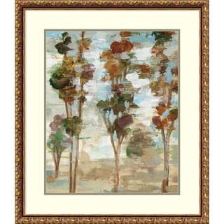Framed Art Print 'Serene Forest III' by Silvia Vassileva 26 x 30-inch