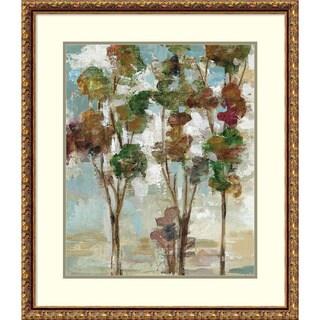 Framed Art Print 'Serene Forest II' by Silvia Vassileva 26 x 30-inch