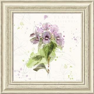 Framed Art Print 'Floral Splash III' by Katie Pertiet 19 x 19-inch