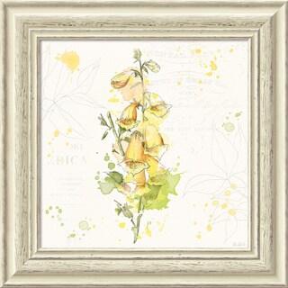 Framed Art Print 'Floral Splash IV' by Katie Pertiet 19 x 19-inch