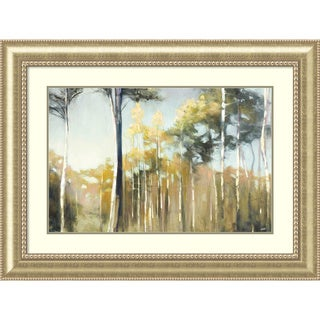 Framed Art Print 'Aspen Reverie' by Julia Purinton 45 x 34-inch
