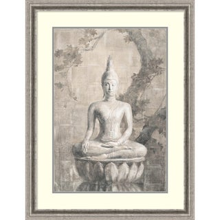 Framed Art Print 'Buddha Neutral' by Danhui Nai 27 x 35-inch