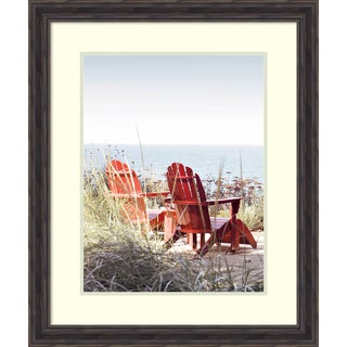 Framed Art Print 'Afternoon by the Lake II' by Brookview Studio 25 x 30-inch