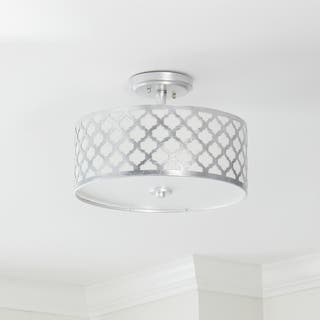 Safavieh Kora 3 Light 15-Inch Dia Silver Flush Mount|https://ak1.ostkcdn.com/images/products/14428777/P20995368.jpg?impolicy=medium