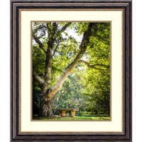 Framed Art Print 'A Place to Ponder (Tree)' by Matt Marten 25 x 29-inch