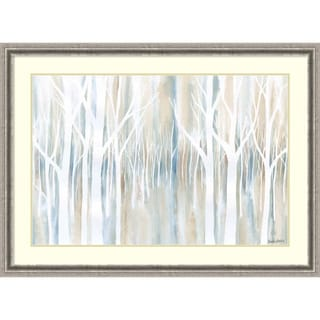 Framed Art Print 'Mystical Woods' by Debbie Banks 45 x 33-inch