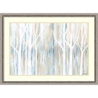 Framed Art Print 'Mystical Woods' by Debbie Banks 45 x 33-inch