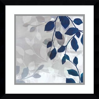 Link to Framed Art Print 'Leaves in the Mist I' by Tandi Venter 17 x 17-inch Similar Items in Art Prints