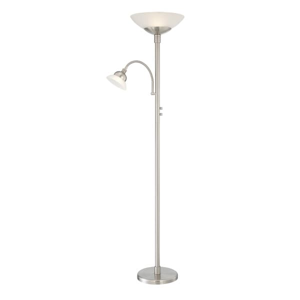 Shop lite source 2 light natalia floor lamp free shipping today lite source 2 light natalia floor lamp aloadofball Gallery