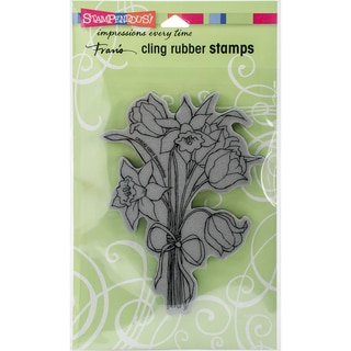 Stampendous Cling Stamp 4X6-Daffodil Bunch