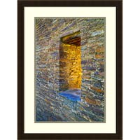 Framed Art Print 'Portal' by Andy Magee 21 x 28-inch