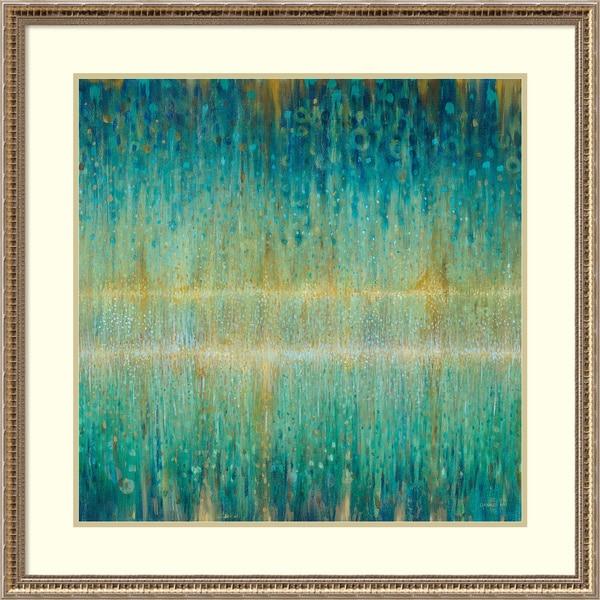 Shop Framed Art Print \'Rain Abstract I\' by Danhui Nai 33 x 33-inch ...
