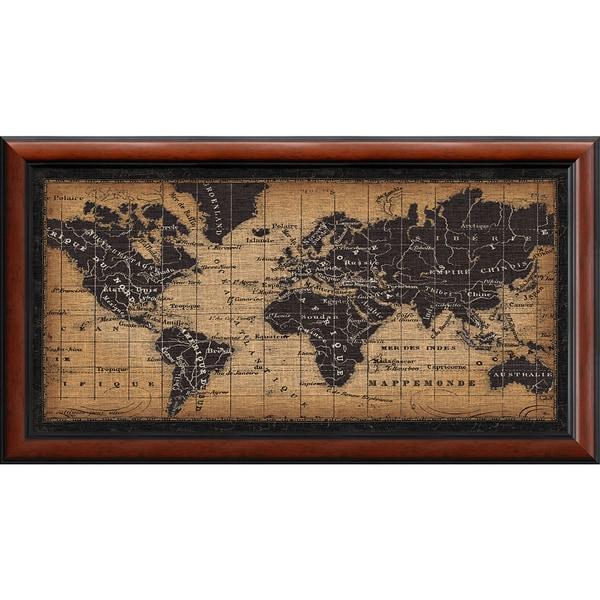 Shop framed art print old world map by pela studio 44 x 24 inch framed art print x27old world mapx27 by pela studio gumiabroncs Choice Image