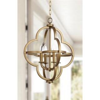 Safavieh Millard 18.5-Inch Dia Gold Adjustable Orb Pendant