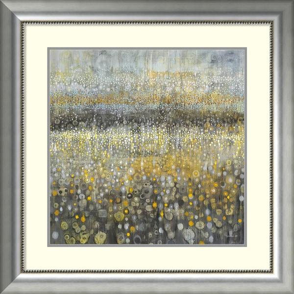 Shop Framed Art Print Rain Abstract Ii By Danhui Nai 33