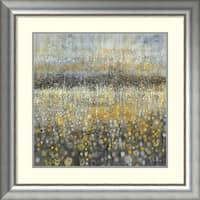 Framed Art Print 'Rain Abstract II' by Danhui Nai 33 x 33-inch