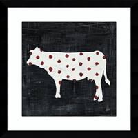 Framed Art Print 'Modern Americana Farm IV' by Melissa Averinos 17 x 17-inch