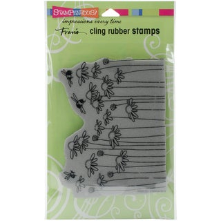 Stampendous Cling Stamp 7.75X4.5-Daisy Field