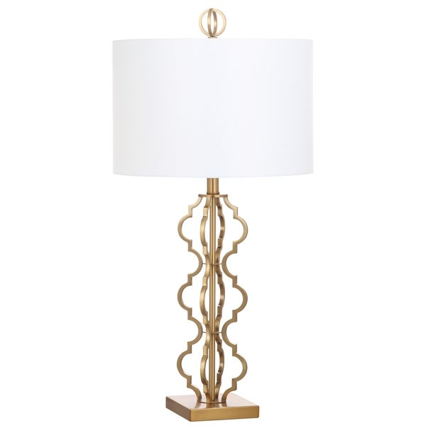 Charmant Safavieh Lighting 32 Inch Astrid Gold Table Lamp