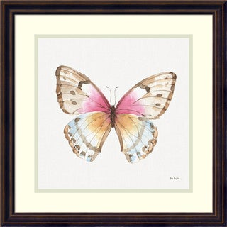 Framed Art Print 'Colorful Breeze XI (Butterfly)' by Lisa Audit 18 x 18-inch