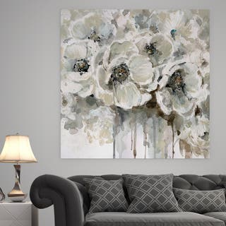 wall arts for living room.  Quiet Moments Premium Gallery Wrapped Canvas Wall Art For Less Overstock com
