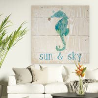 Wexford Home 'Sun & Sky' Premium Gallery Wrapped Canvas