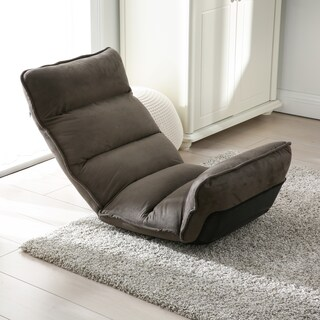 Modern Tyson Adjustable Fabric Gaming Chaise Lounge Chair (Option: Grey)