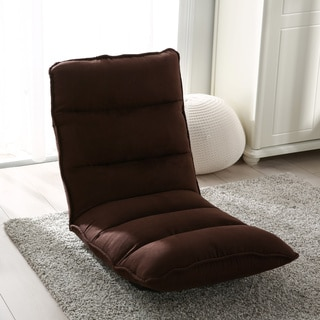Attirant Modern Tyson Adjustable Fabric Gaming Chaise Lounge Chair