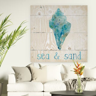Link to Wexford Home 'Sea & Sand' Premium Gallery Wrapped Canvas Similar Items in Decorative Accessories
