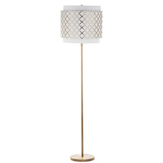 Safavieh Priscilla 61.5-Inch H Gold Floor Lamp