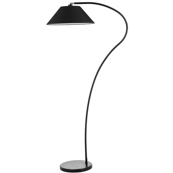 Shop Safavieh Lighting 69 Inch Lumi Arc Black Floor Lamp
