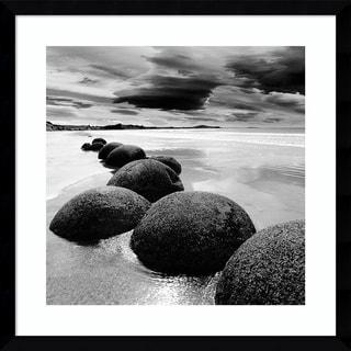 Framed Art Print 'In13501_3 (Seashore)' by PhotoINC Studio 21 x 21-inch