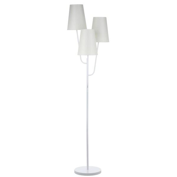 Safavieh Lighting 67-inch Triple Astro White Floor Lamp