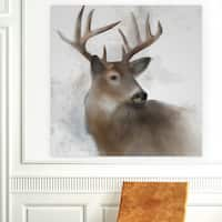 Wexford Home 'Rainsoft Deer' Premium Gallery Wrapped Canvas Art