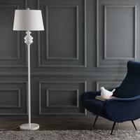 Safavieh Lighting 67.5-inch Torc White Floor Lamp