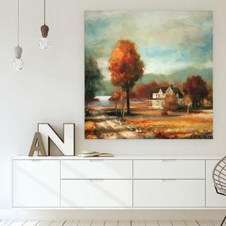 Wexford Home F Rosenstiels Widow & Son 'Autumn Memories' Premium Gallery Wrapped Canvas