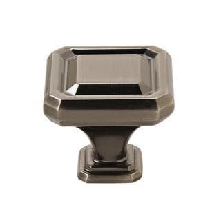 Amerock Wells Gunmetal 1.5-inch Diameter Cabinet Knob