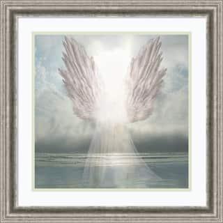 Framed Art Print 'I Am Guided (Angel)' by David M (Maclean) 23 x 23-inch|https://ak1.ostkcdn.com/images/products/14429184/P20995889.jpg?impolicy=medium