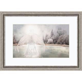 Framed Art Print 'I Am Peaceful (Angel)' by David M (Maclean) 29 x 21-inch|https://ak1.ostkcdn.com/images/products/14429186/P20995890.jpg?impolicy=medium