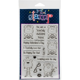 "Your Next Stamp Clear Stamps 4""X6""-Froggie Love"