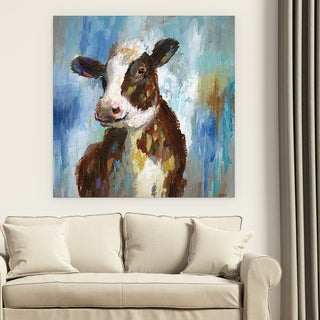 Wexford Home 'Spring Calf' Premium Gallery-wrapped Canvas (4 Sizes Available)