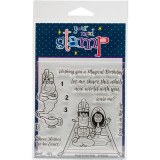 """Your Next Stamp Clear Stamps 4""""X4""""-Magic Carpet Ride"""