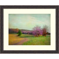 Framed Art Print 'Nature Is Divine' by Dawn D. Hanna 33 x 27-inch