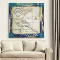 Wexford Home 'Bohemian Traveler I' Premium Gallery Wrapped Canvas