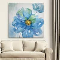 Wexford Home 'Rendered in Blue II' Premium Gallery Wrapped Canvas