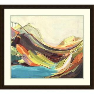 Framed Art Print 'Mount Desert Isle' by Amanda K. Hawkins 31 x 28-inch