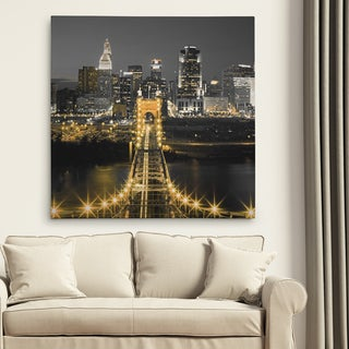 'Bridge Above' Premium Gallery Wrapped Canvas (4 Sizes Available)