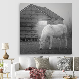 Wexford Home 'Misty Pasture' Premium Gallery Wrapped Canvas Art